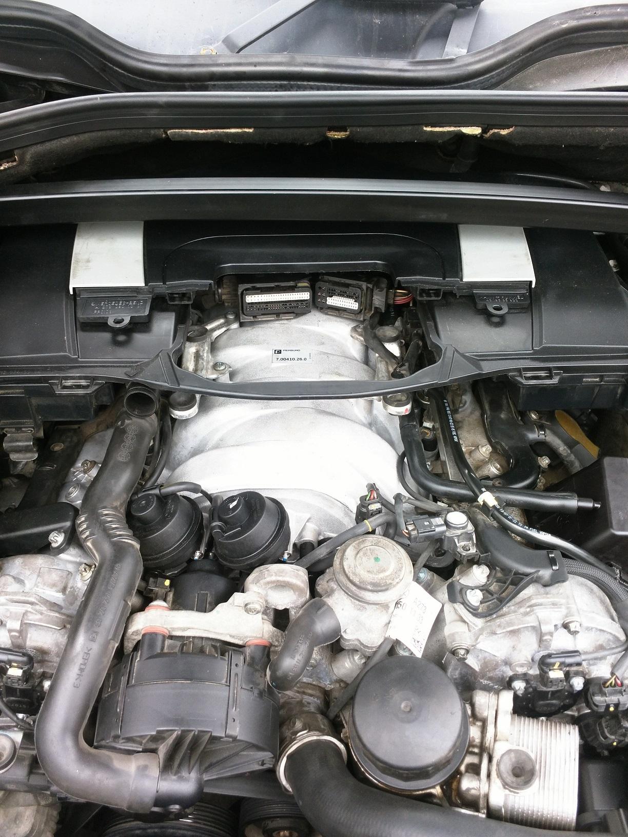 Mercedes ML, GL engine ECU