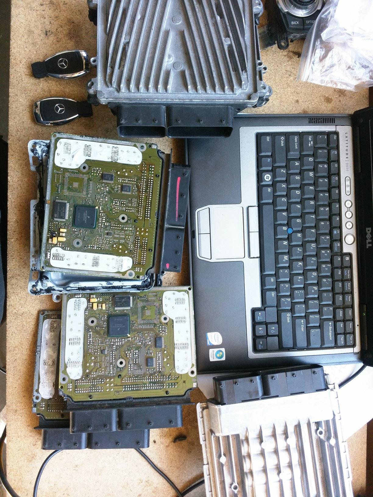 Mercedes ME9.7 repair